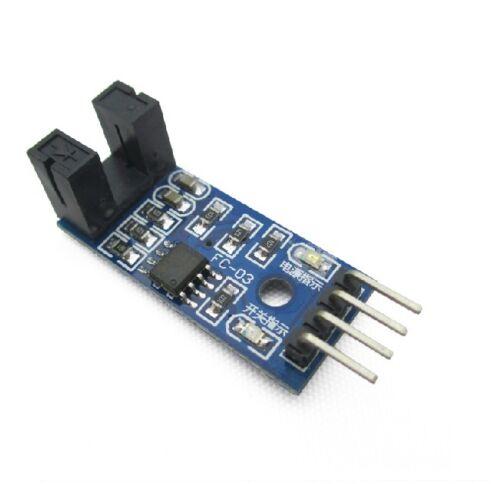 2pcs Slot-type Optocoupler Module for Arduino Voltage 3.3V-5V