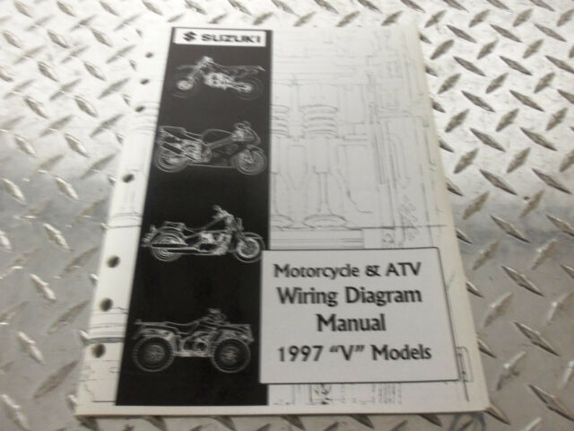 1997 Suzuki Motorcycle  U0026 Atv Wiring Diagram Manual 99923