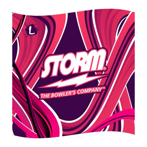 "16/""x16/"" High Quality Print! Storm Bowling Dye-Sublimated Microfiber Towel"