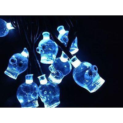 HALLOWEEN LED PUMPKIN SKELETON SKULL EYEBALLS FAIRY WINDOW LIGHTS DECORATIONS