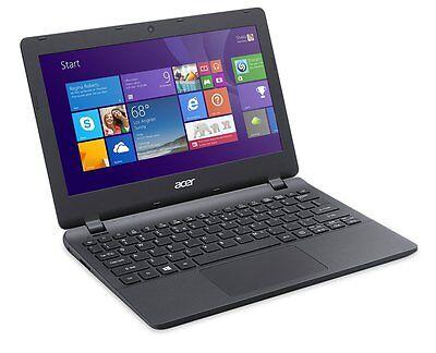 New Acer Aspire E 11 ES1-111M-C40S 11.6-Inch Laptop (Diamond Black) win 8.1