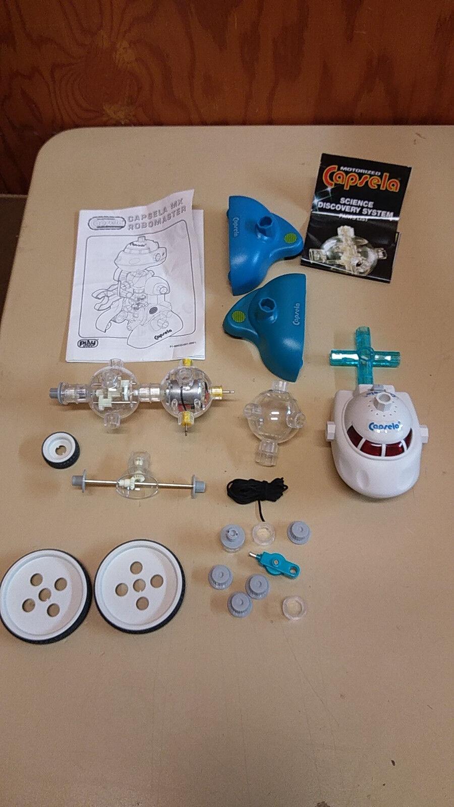 Capsela Robo Head Motor Drivetrain And Other Parts Pieces