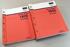 Case 1825 Uni Loader Skid Steer Loader Service Repair Shop Manual Technical Book