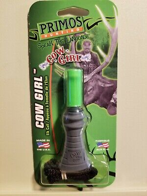 """Elk Call Primos /""""Cow Girl/""""  #937 Bite/& Blow Cow Calf New Sealed Package!"""