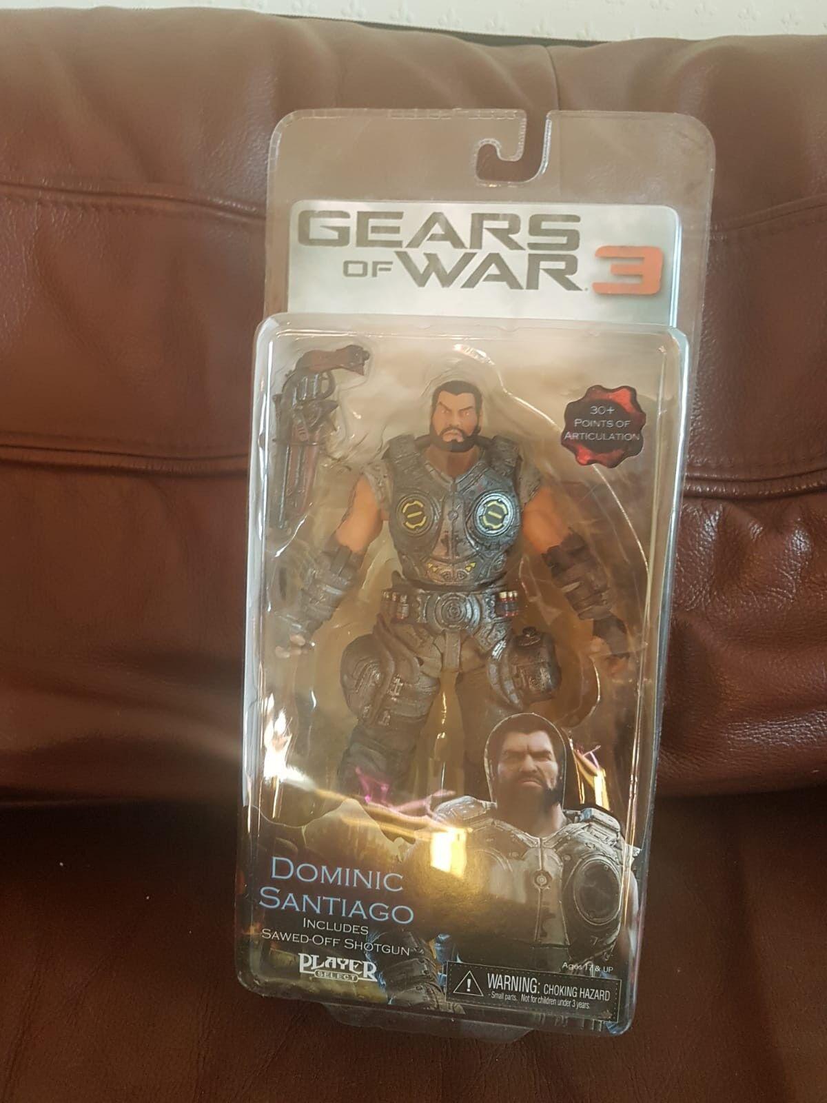 Gears of war figures unopened mint condition Dominic Santiago