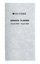 Day Timer 2022 20 Month Advance Planner Pocket Size 3 12 X 6 12