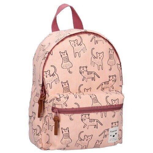Kidzroom Cats Katze Katzen Tier Kinderrucksack Rucksack Tasche Kinder rosa 31 cm