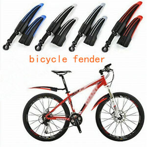 Vélo Protection tôle MTB steckschutzblech-Set 26-29 in NEUF