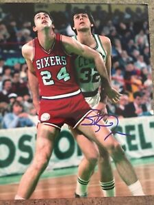 f057622f7 Image is loading BOBBY-JONES-1983-PHILADELPHIA-76ERS-SIXERS-AUTOGRAPHED- SIGNED-