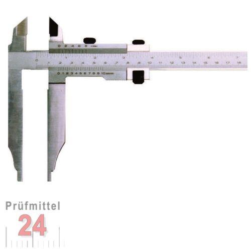 Spitze Schieblehre mit Nonius 800 mm Werkstatt Messschieber Schnabel 150 mm