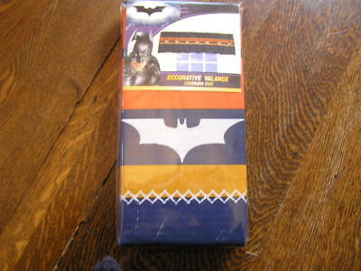 "OfficiëLe Website Dc Comics Batman The Dark Knight Window Valance 84x15"" Standard Rough Bat~~nip!!"