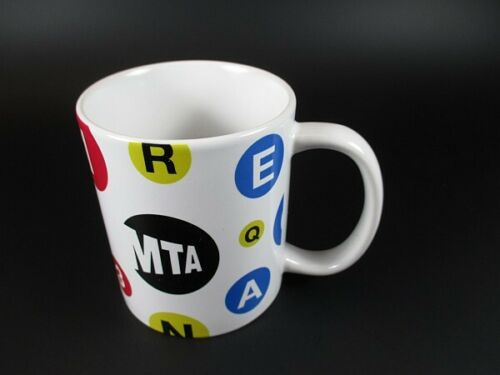 New York Kaffeetasse MTA Metro Subway Kaffeebecher,Souvenir Tasse,Coffee Mug
