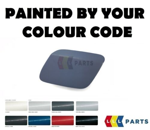 NEW AUDI A7 S-LINE 10-14 LEFT HEADLIGHT WASHER CAP PAINTED BY YOUR COLOUR CODE