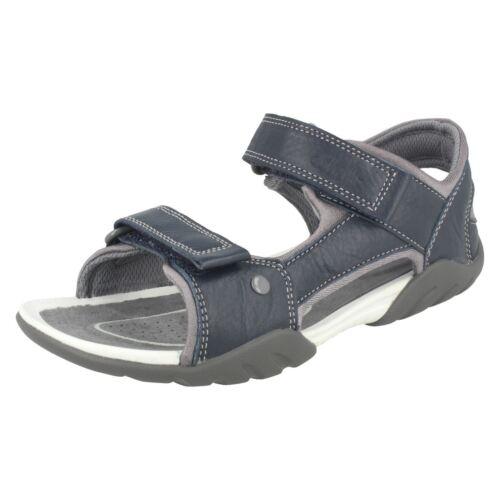 Boys Clarks Slingback Sandals Mirlo Deck
