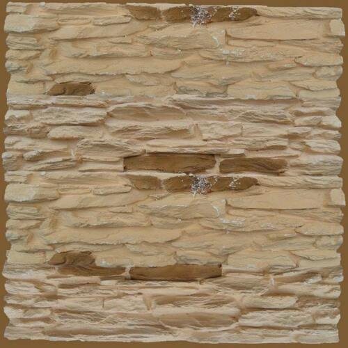 Plaster Stone Wall Branches Mold 3D Tile Panels Plastic Form Art Decor ABS New