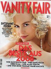 Vanity Fair De 2008 51.NICOLE KIDMAN,MADONNA & HUY RITCHIE,HEATH LEDGER,C.BRUNI