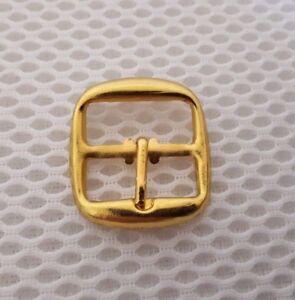 10 X 20 mm Oro Acabado Hebilla De Metal Bolsa Zapato Corsé Leather Craft Cinturón Correa/