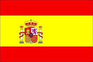 FLAG OF SPAIN FLAG SPANISH NATIONAL ESPANA PLATED ...