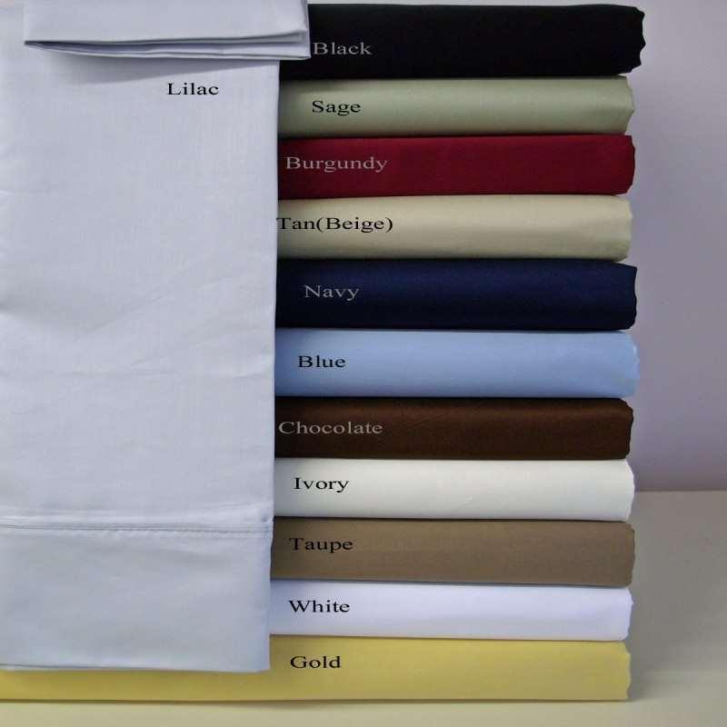 Luxury King Size 4 pc Bedding Sheet Set 1200 Thread Count 100%Egyptian Cotton