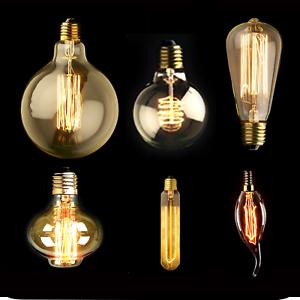 e27 e14 b22 60w vintage antique retro style light filament edison