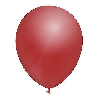 """12"""" INCH STANDARD LATEX BALLOONS - ALL COLOURS - 10's, 25's, 50's or 100's"""