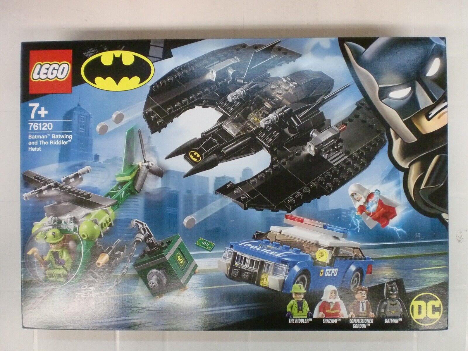 LEGO 76120 - BATMAN BATWING AND THE RIDDLER HEIST - serie BATMAN