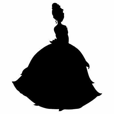 7 Princess Tiana Vinyl Decal Sticker Car Window Laptop Disney