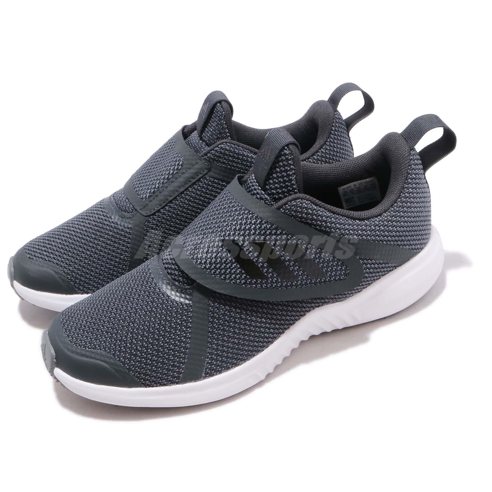 Adidas FortaRun  X CF K grigio bianca Kid Preschool Slip on scarpe scarpe da ginnastica F36194  stile classico