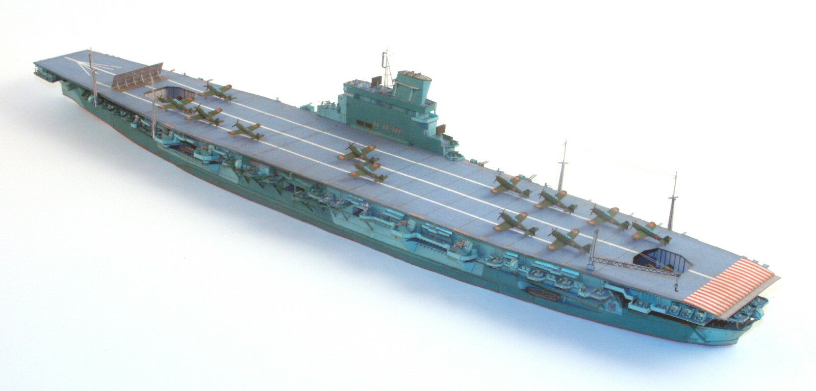 Japan. Aircraft Carrier Shinano 1 400 without   with Lasercut Parts Jsc 084