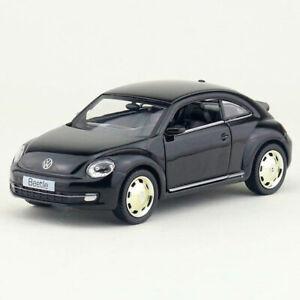 1-36-Beetle-2012-Metall-Die-Cast-Modellauto-Auto-Spielzeug-Kind-Sammlung-Schwarz