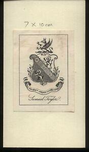 19th-20th-Century-Ex-Libris-Book-Plate-Samuel-Taylor