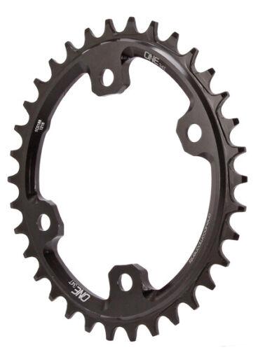 OneUp composants XT M8000 ovale Chainring 96BCD 34 T-Noir