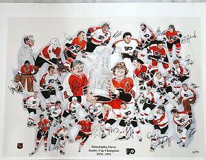 Philadelphia-Flyers-1974-amp-1975-Stanley-Cup-Championship-Teams-Lmtd-Edition-75