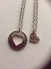 Double Hearts Mother Daughter Necklace Sets Matching Mom And Me Jewelry