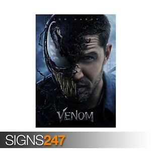 VENOM-TOM-HARDY-ZZ059-MOVIE-POSTER-Photo-Picture-Poster-Print-Art-A0-to-A4