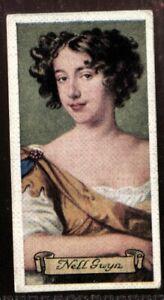 Tobacco-Card-Carreras-CELEBRITIES-OF-BRITISH-HISTORY-1935-Nell-Gwynn-19