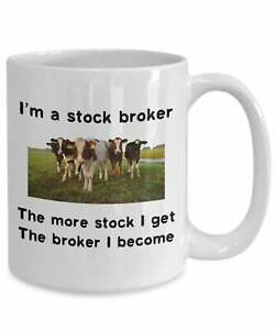 Stock-Broker-Mug-Western-Mug-Cowboy-Cattle-Rancher-Gift-Coffee-Funny-Cup