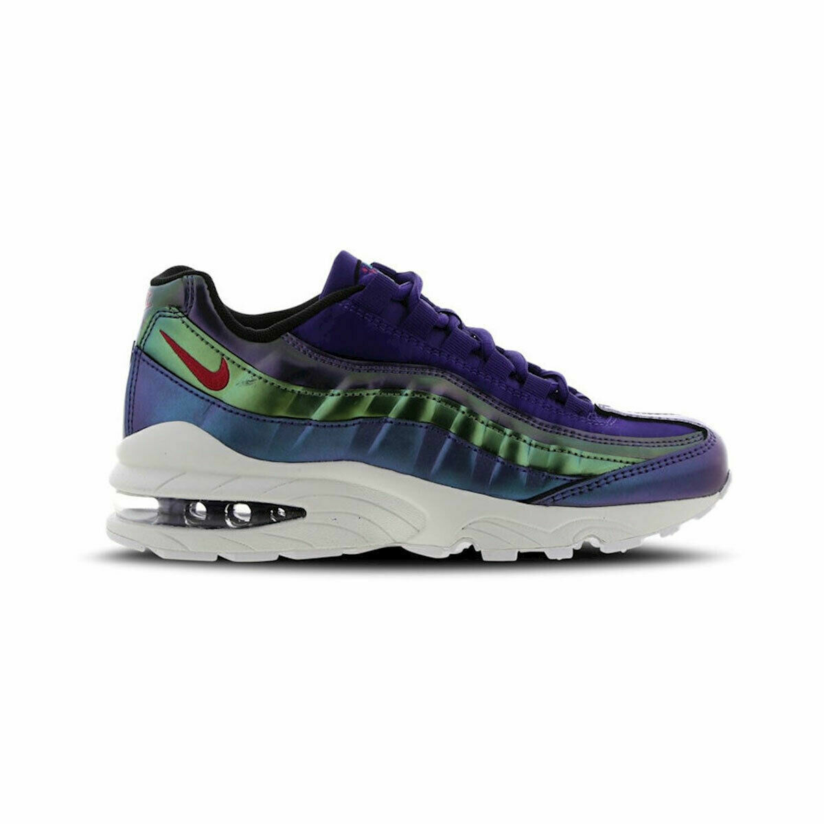 Nike Air Max 95 SE GS Youth Size 7y Running Shoes Aj1899 500 Purple
