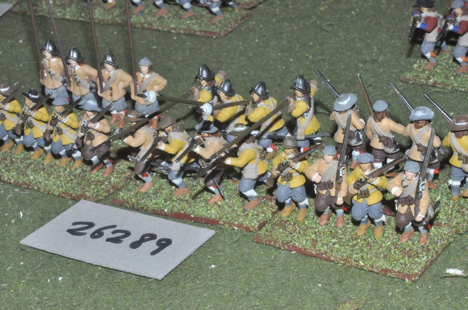 25mm ECW   english - regt. (plastic) 24 figures - inf (26289)