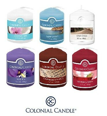 NEW Colonial Candle Scented Votive Fragrance Sampler