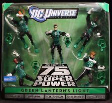 "2010 MATTEL DC UNIVERSE CLASSICS GREEN LANTERN'S LIGHT 5-PACK 6"" FIGURES MIB"
