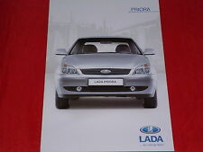 LADA Priora + Priora Kombi Prospekt von 2012