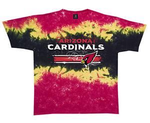 buy popular c8527 c6120 Details about Liquid Blue Arizona Cardinals Tie-Dye T-Shirt NFL  Licensed---Brand New w/Tags--