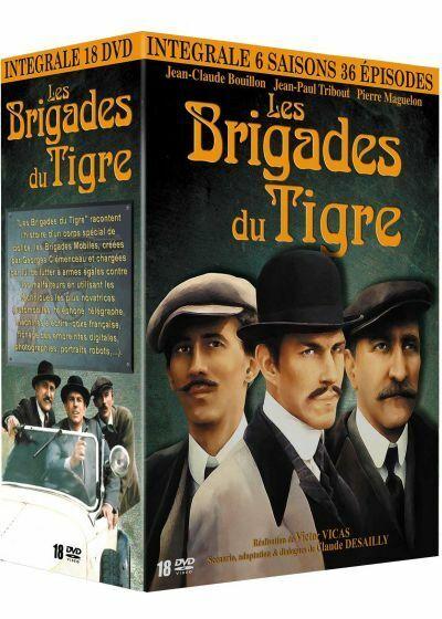 Les brigades du Tigre – Intégrale DVD des 6 saisons. 36 épisodes. NEUF