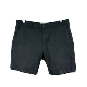 Rollas-Mens-Shorts-Size-36-Grey-Relaxed-Crop-With-Pockets-Bermuda