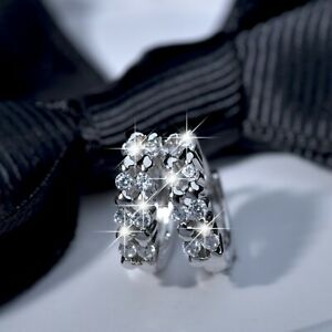 18k-white-gold-gf-made-with-SWAROVSKI-crystal-huggie-statement-earrings-SMALL