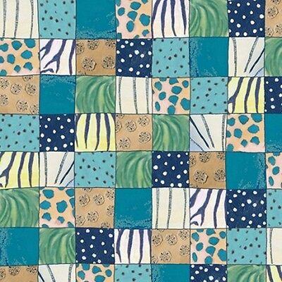 Migration Mini Patch Blocks Cotton Fabric Julia Cairns Fabric .50 Yd L Orange