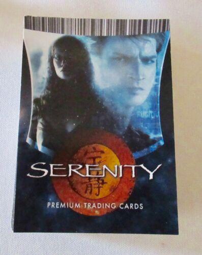 Serenity base card set #1-72