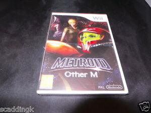 nintendo wii game metoid other m brand new factory sealed nintendo