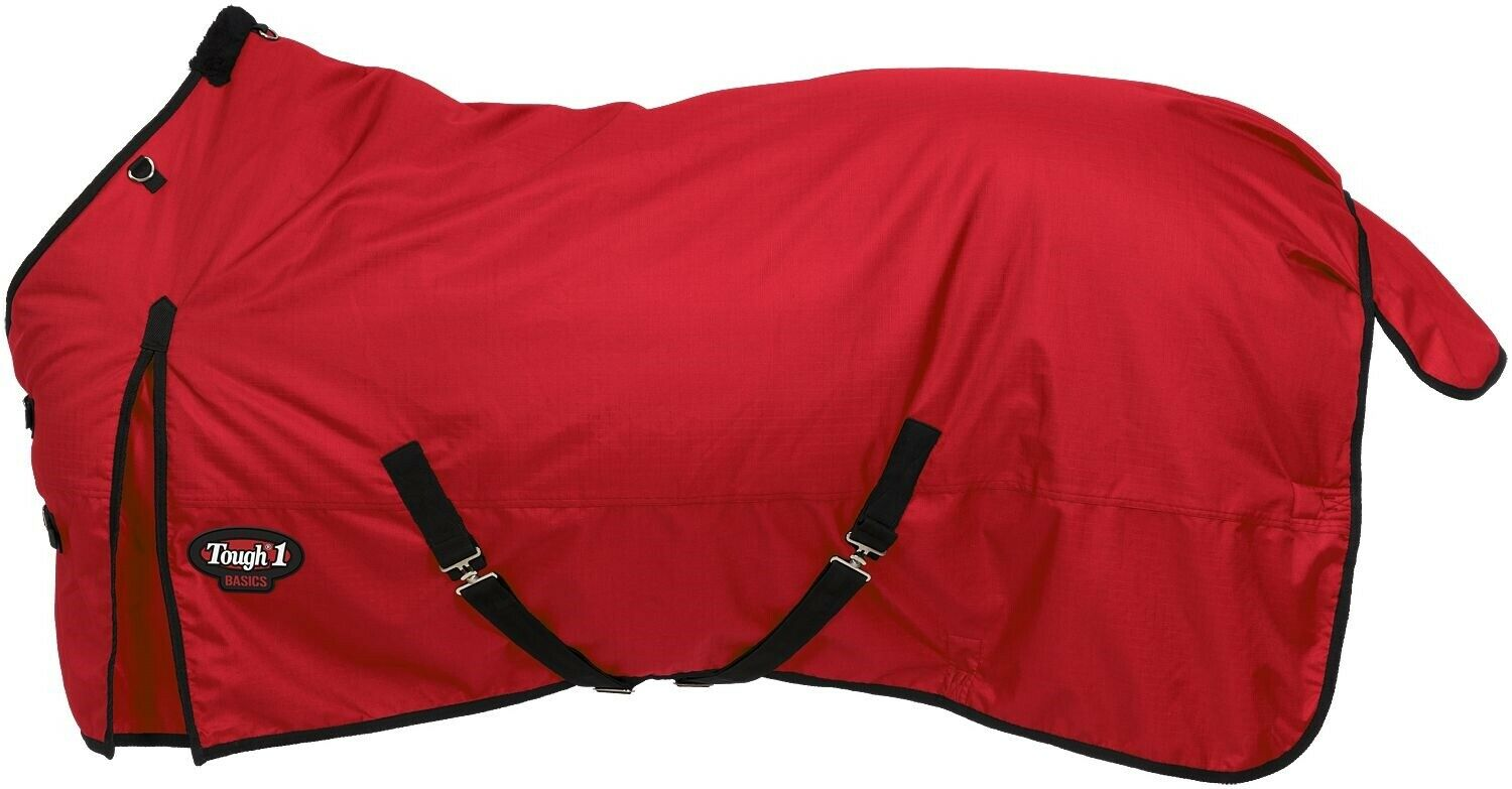 Winter Horse Blanket  HeavyWeight Turnout  1200D  300 Grams  69  84  rosso